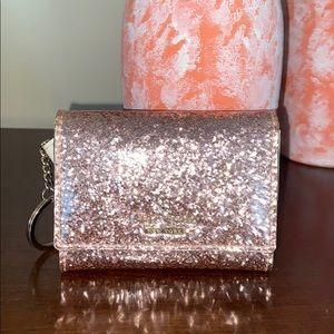 Mini Kate Spade Glitter Wallet